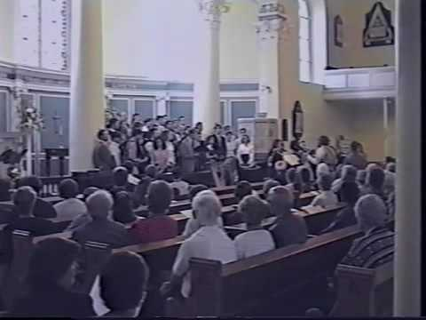 """Ireland 1997 (#01): """"All Will Be Well"""" St. Iberius, Wexford"""