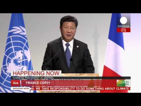 COP 21: Xi Jinping's full speech on climate change - live