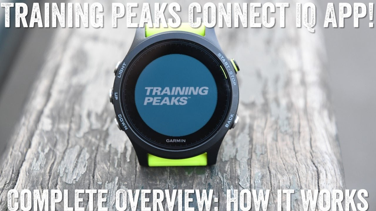 Hands-on: New TrainingPeaks Connect IQ App (for Garmin devices)!