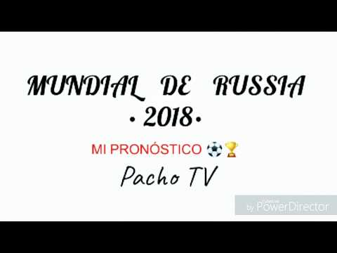 World Forecast Russia  2018⚽🏆🌎