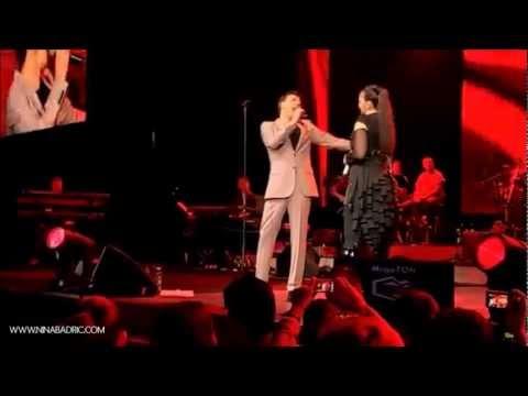Nina Badric i Hari Varesanovic - Ne mogu ti reci sto je tuga @ ARENA BEOGRAD, 2012.