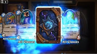 Hooked Reaver - Kobolds and Catacombs Hearthstone rare card pack opening