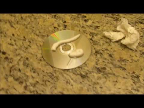 How To Clean A Xbox/Playstation Disc!