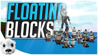 Floating Blocks Glitch!! - Build a Boat NEW Hinge Block! ROBLOX