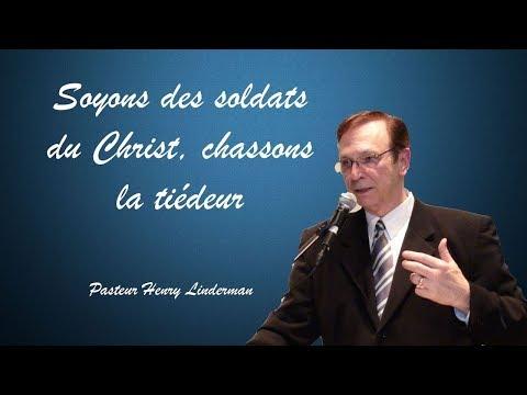 Soyons des soldats du Christ, et chassons toute tiédeur