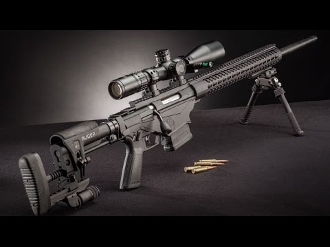 Ruger Precision Rifle 308 Range Time - YouTube