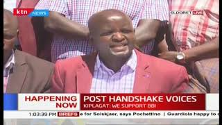 Reps of 10 county assembly from Rift Valley in Eledoret issue a statement in support of DP Ruto