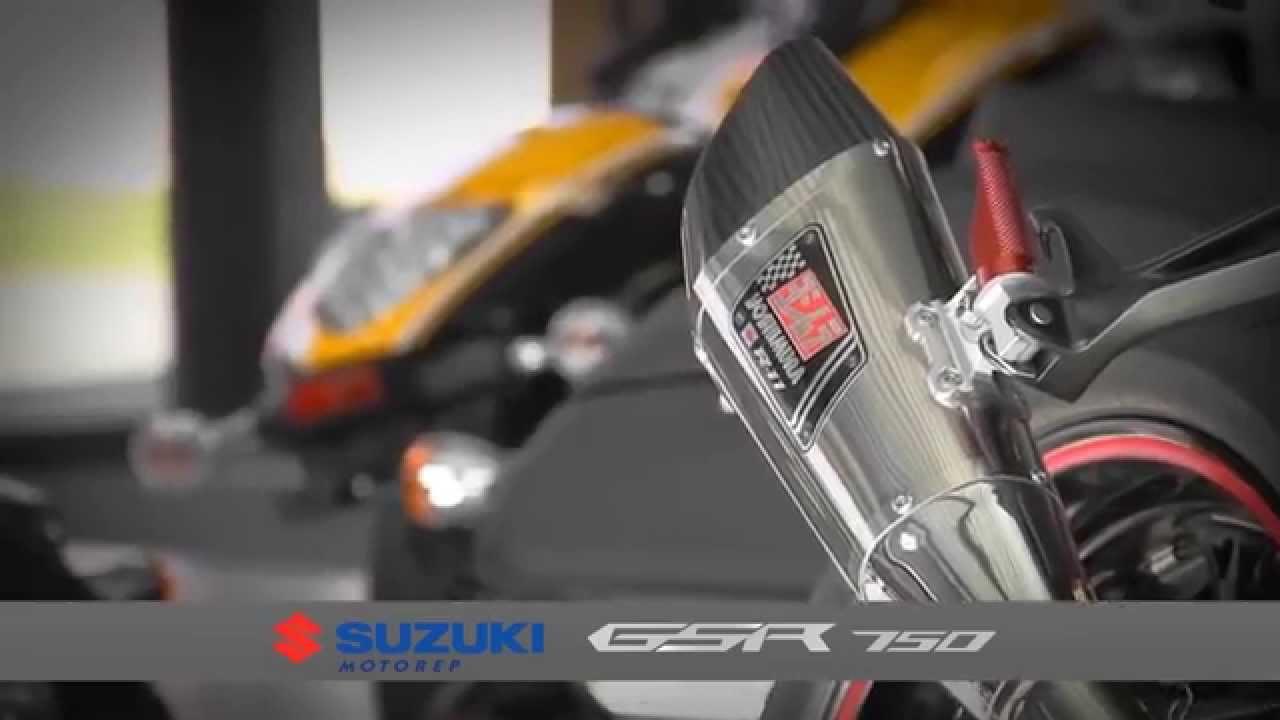 suzuki gsr 750 street edition by motorep village motos youtube. Black Bedroom Furniture Sets. Home Design Ideas