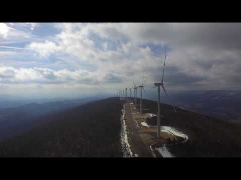 New Creek Mountain wind farm