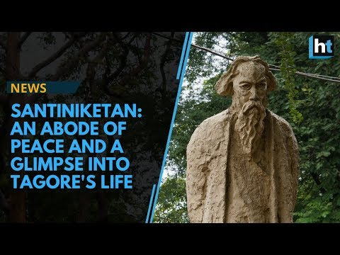 An abode of peace with memories of Rabindranath Tagore