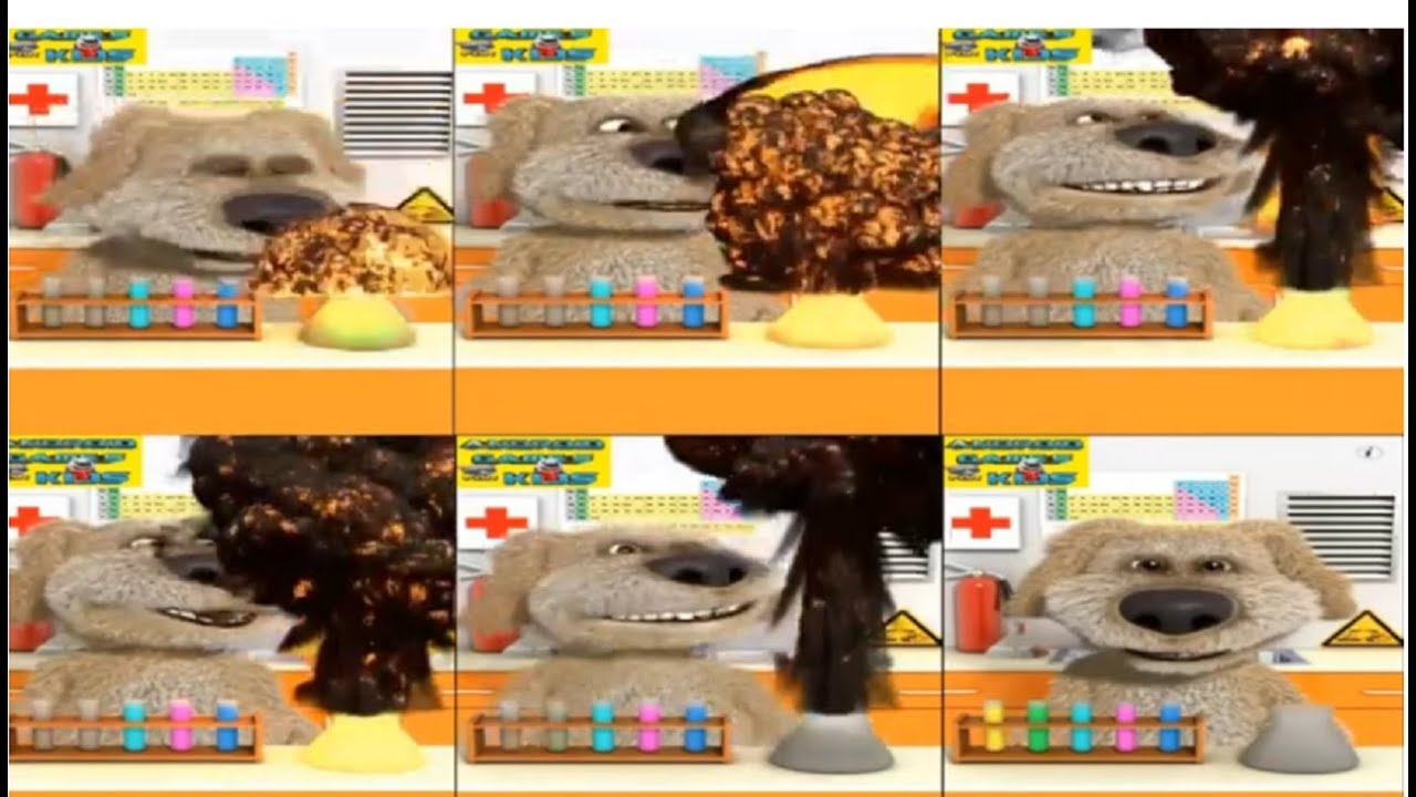 Download Talking Ben The Dog Laboratory Experiments Reversed Effects x 6 Hilarious chemical reaction DIY