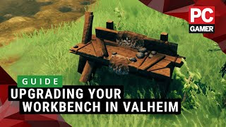Upgrading Your Workbench In Valheim Guide Youtube