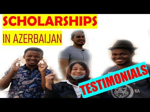 Azerbaijan Government Scholarship: Testimonials