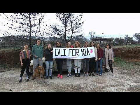Solidariedade de Mati para a Califórnia