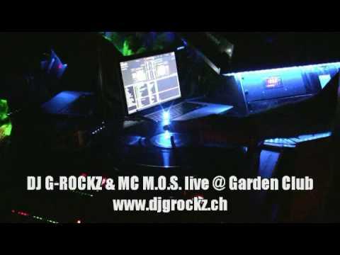 DJ G-Rockz live @ Garden Club (produced by DJ S-CODE)