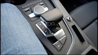 2017 Audi A4 Allroad (B9): Shifter Overview