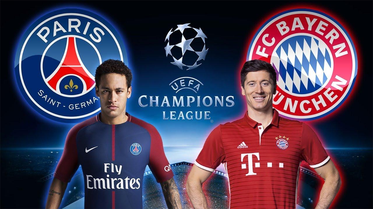 Psg Bayern Monaco Champions League Fifa  Neymar Vs Lewandowski