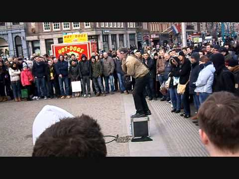 Amsterdam Escape trick (Street Performance Dam´Square)