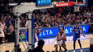 Derrick Williams Hammers Home the Reverse Jam