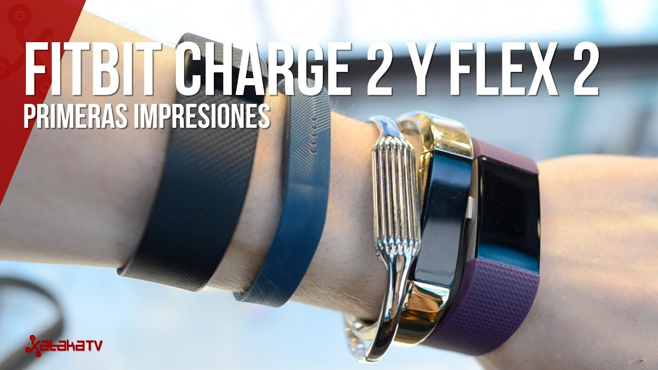 1f3bf7a90b8a Fitbit Flex 2 y Charge 2