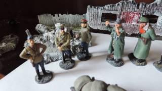 """""""Как дед  немцев покупал """" Юмор на войне. Коллекция оловянные солдатики"""