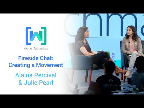 Women Techmakers Summit 2015: Creating a Movement featuring Julie Pearl and Alaina Percival