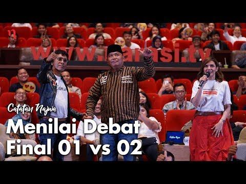 Nobar Debat Pilpres: Bawa Asyik Politik - Menilai Debat Final 01 vs 02 (Part 7) | Catatan Najwa