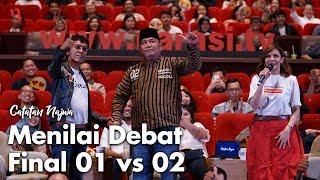 Download Video Nobar Debat Pilpres: Bawa Asyik Politik - Menilai Debat Final 01 vs 02 (Part 7) | Catatan Najwa MP3 3GP MP4