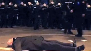 В Черногории разогнали демонстрацию против вступления в НАТО