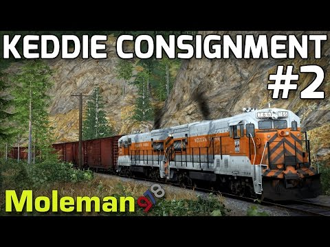 Keddie Consignment Part 2 | TS2016 | Feather River Canyon | GE U30B