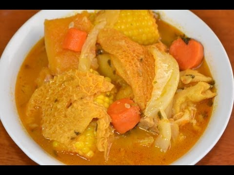 Sopa de mondongo Nicaraguense