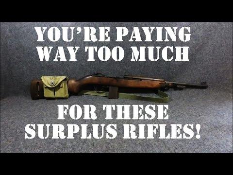 Top 5 Overpriced Military Surplus Rifles of 2017