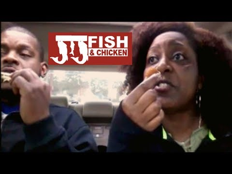 JJs Fish And Chicken (Fried Chicken, Fried Fish, Fried Shrimp) Eating Show!