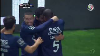 Goal   Golo Licá: Sp. Braga 0-(2) Belenenses (Liga 18/19 #23)