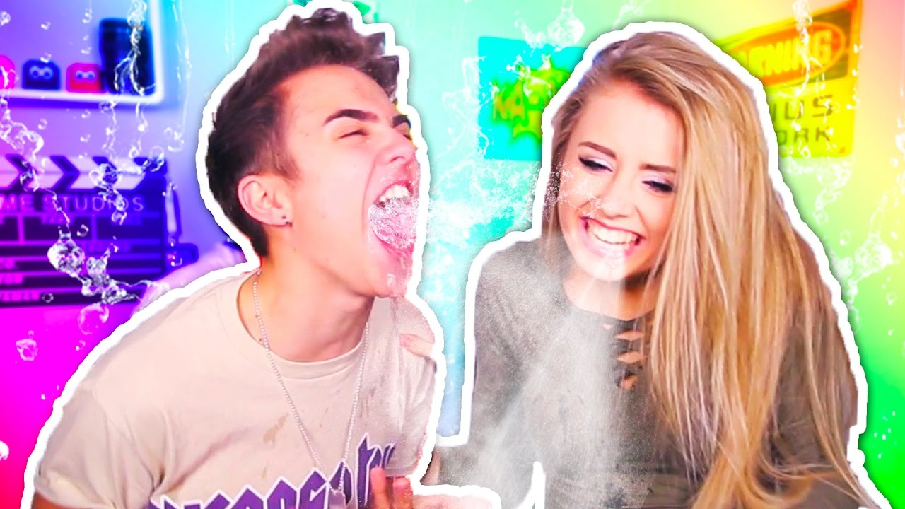 try not to laugh challenge with my sister!! - youtube
