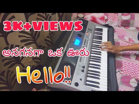 Hello! |Anaganaga oka uru-Piano Notes |Hello Movie Bgm|Akhil|Anup Rubens