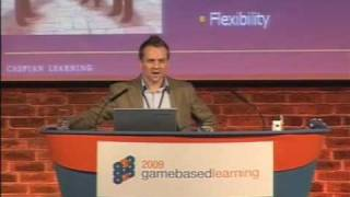 Game Based Learning 2009 - Graeme Duncan, CEO, Caspian Learning