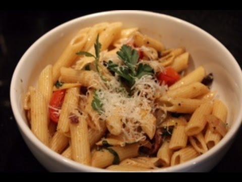 Olive & Artichoke Penne Pasta
