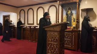 HG Bishop Youssef: Midnight & Matins Prayers & Praises @ St Mary & St Moses Abbey, TX ~ 04/05/2020