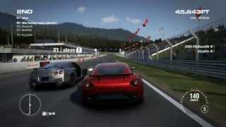 GRID 2 PC Multiplayer Endurance Gameplay: Tier 3 Upgraded Aston Martin V12 Zagato in Red Bull Ring