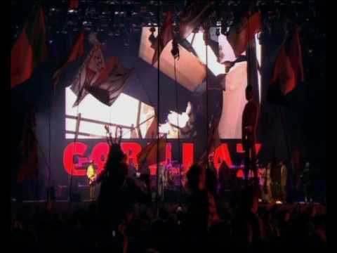 Gorillaz perform Stylo at Glastonbury 2010
