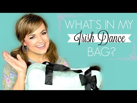 What's in my Irish Dance Bag? (Irish Dancer Essentials)  |  Faces by Cait B