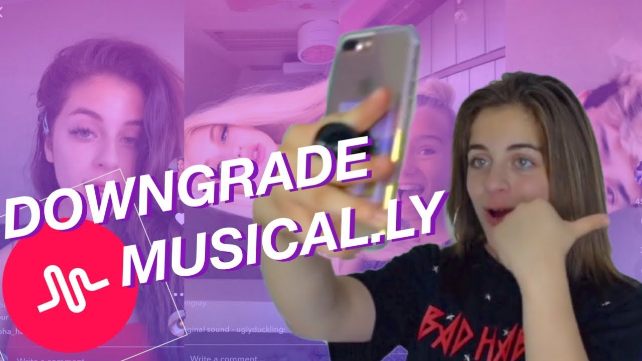 HOW TO DOWNGRADE YOUR MUSICAL LY APP