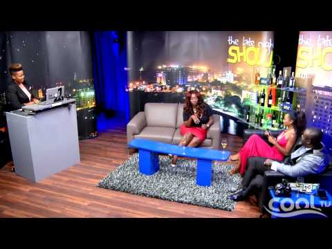 THE LATE NIGHT SHOW - Guest: Ghanaian Presenter, Peace   Cool TV