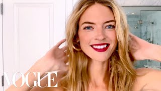 Supermodel Martha Hunt's Guide to Night-Out Glam | Beauty Secrets | Vogue