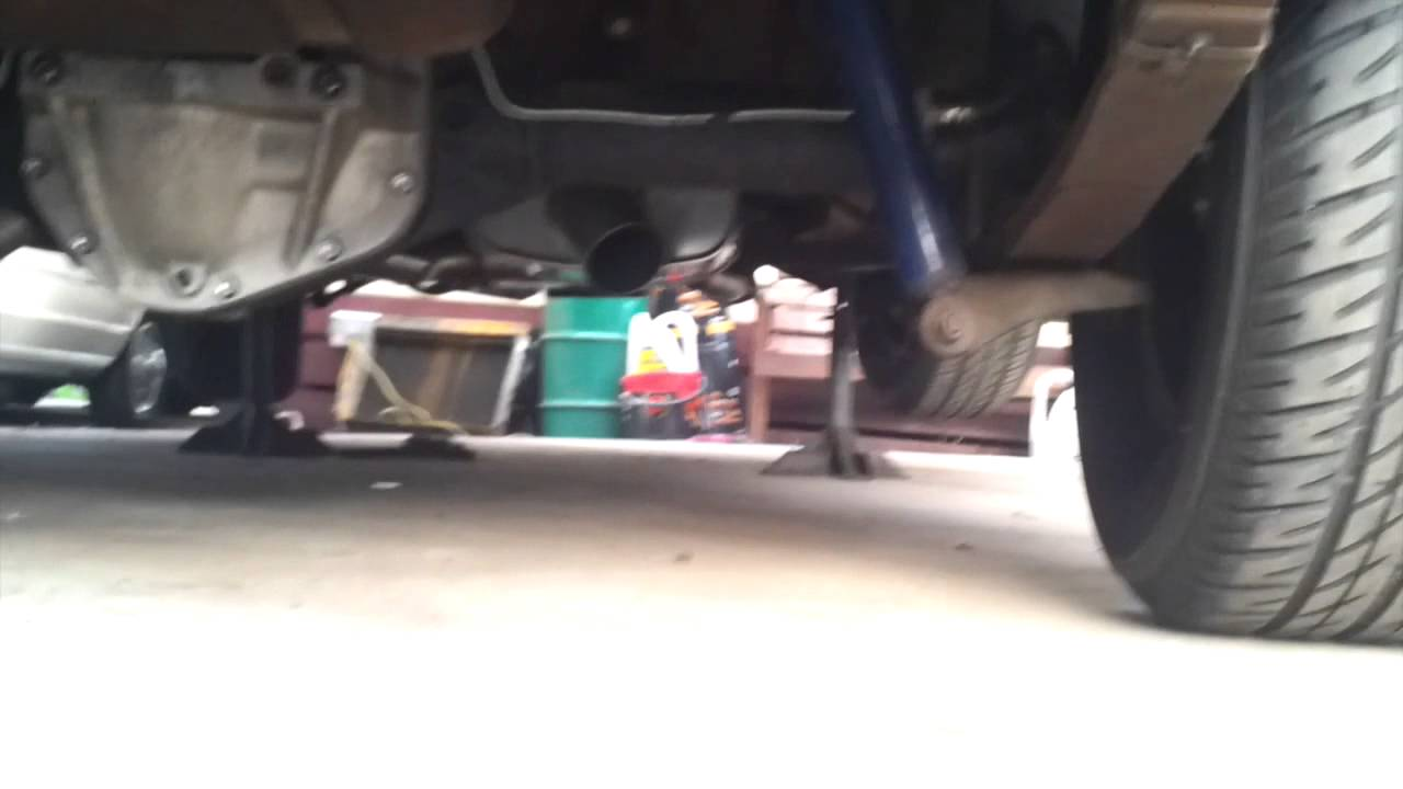 Custom Exhaust Sound on Graveyard Cuda