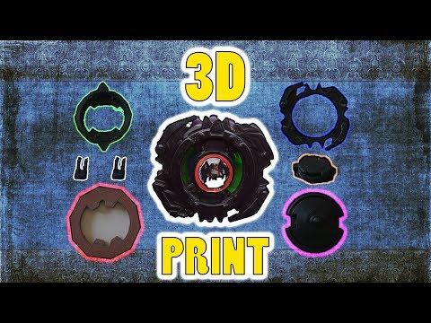 3D Yazıcı İle Beyblade Zeus Basmak