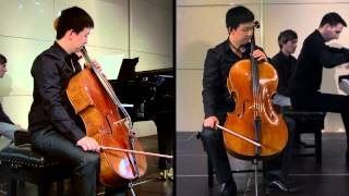 2014 ACA: Cellist Yelian He performs Haydn Cello Concerto No. 2 in D major, Hob VII/2
