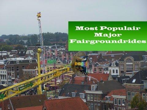 Top 10 Populair European Major Fairgroundrides