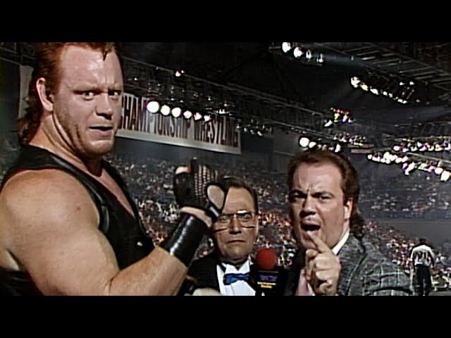Paul Heyman manages The Undertaker in WCW: WCW Great American Bash 1990